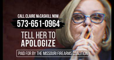 Missouri Gun Group Hits Sen. McCaskill HARD!
