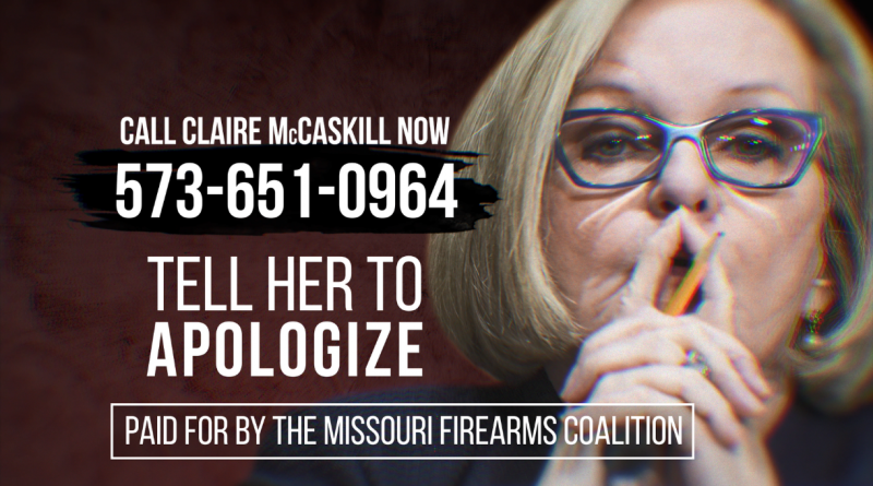 Missouri Gun Group Hits Sen. McCaskill HARD!